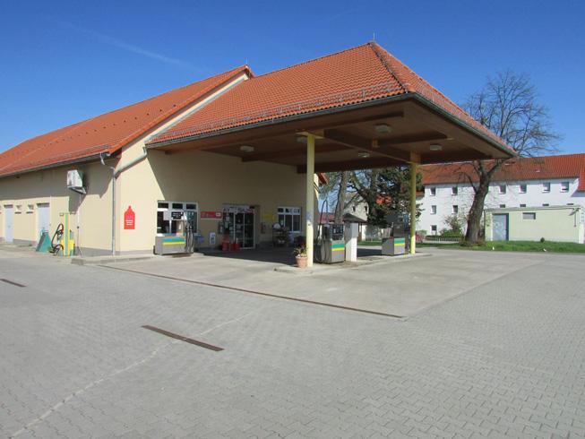 Kamenz Jesau Tankstelle
