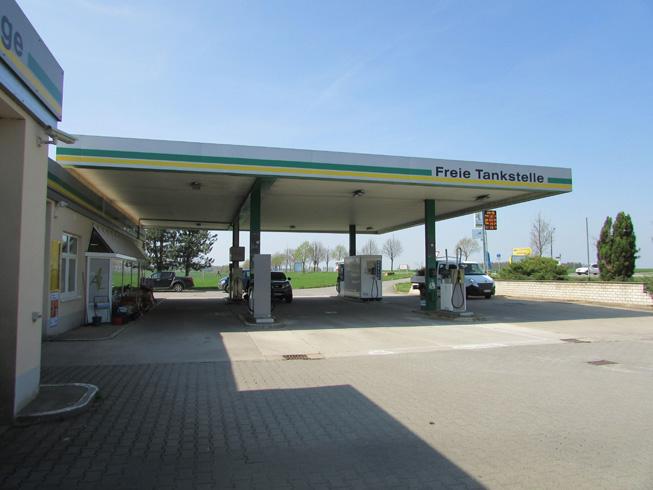 Pannschwitz-Kuckau Tankstelle